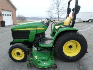 John Deere 4310 4x4 Compact Utility Tractor With 72