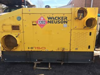 2011 Wacker Neuson Hi 770 D Indirect Fired Heater Diesel 750,  000 Btu photo