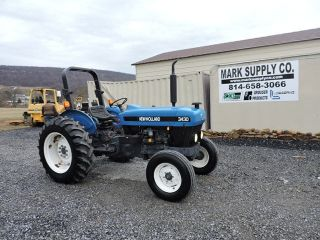 1999 Holland 3430 Farm Tractor 3 Point Hitch Ford Diesel Engine 8 Speed photo