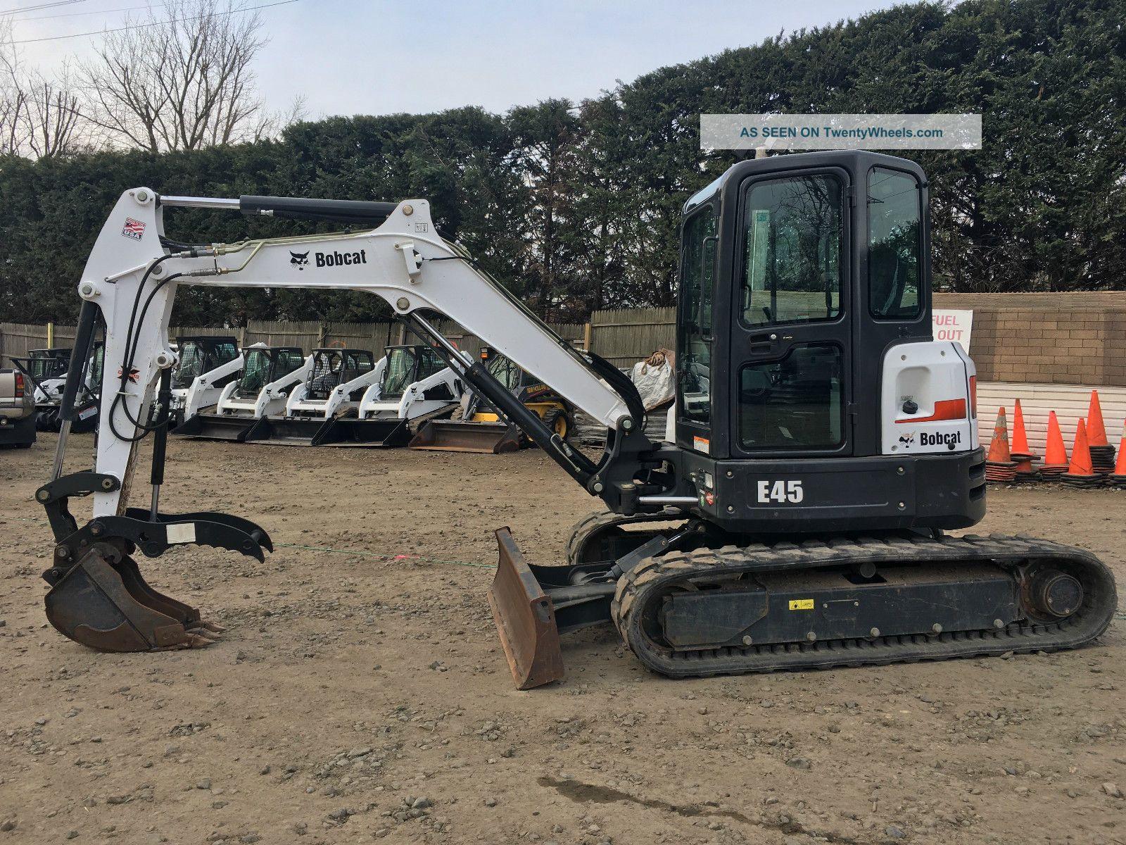 2014 Bobcat E45 Mini Excavator Excavators photo