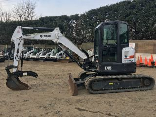 2014 Bobcat E45 Mini Excavator photo