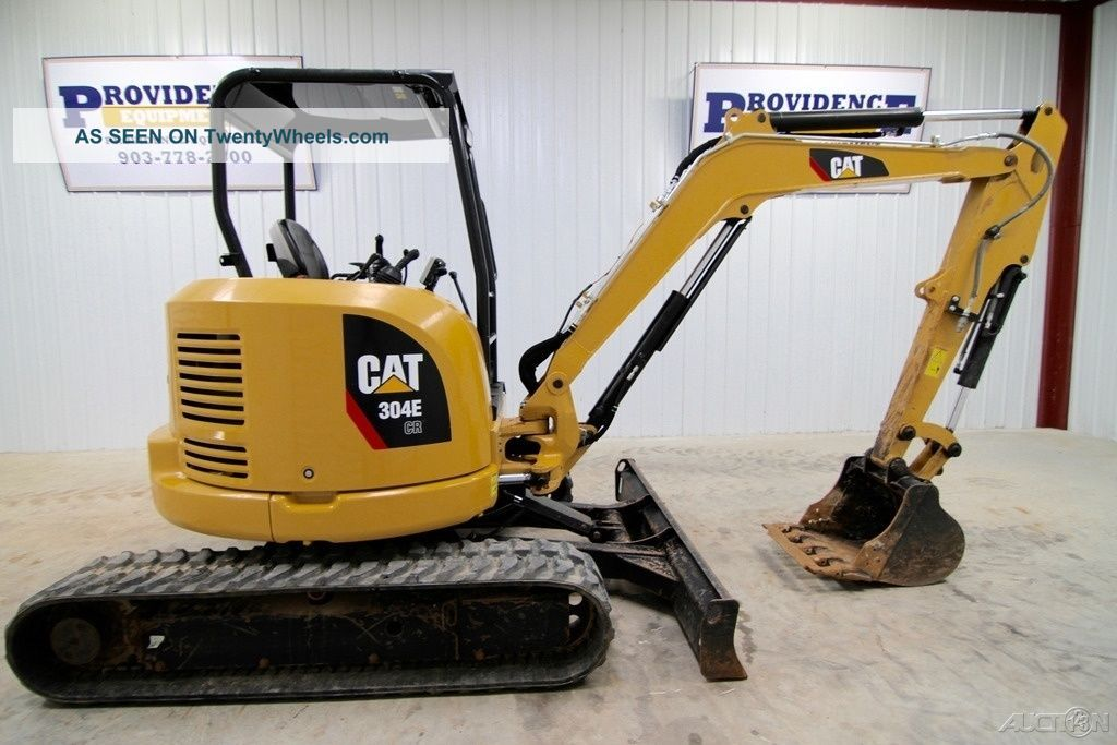 2015 Cat 304e Cr Mini Track Excavator,  Aux.  Hydraulics, ,  Only 981 Hrs Excavators photo