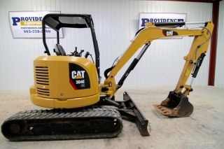 2015 Cat 304e Cr Mini Track Excavator,  Aux.  Hydraulics, ,  Only 981 Hrs photo