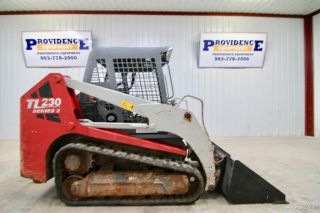 2013 Takeuchi Tl230 Track Loader Skid Steer,  71 Hp,  2 - Speed photo