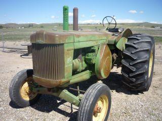 1956 John Deere Model 80 Tractor photo