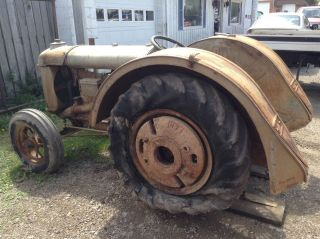 1925 Fordson Tractor Ford Tractor photo
