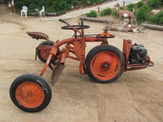 Antique Tractor Fmc - Food Machinery Corp - Bean - Cutler Division San Jose,  Ca photo