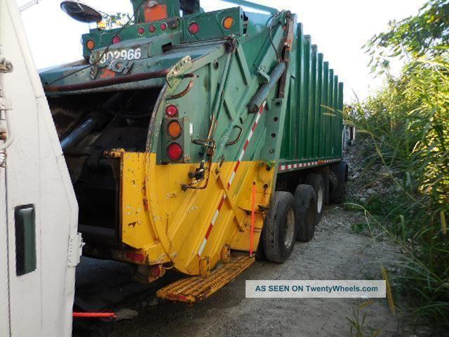 1998 Mack Mr688s Recycling Trucks
