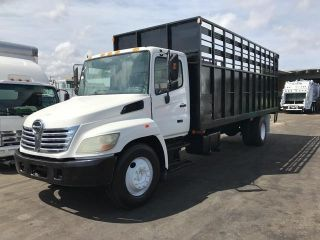 2005 Hino 268 Stake Trucks photo