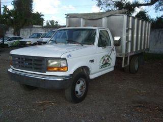 1996 Ford F350 Dump Trucks photo
