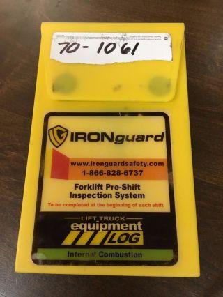 Ironguard Propane Counterbalance Forklift Log 70 - 1061 photo