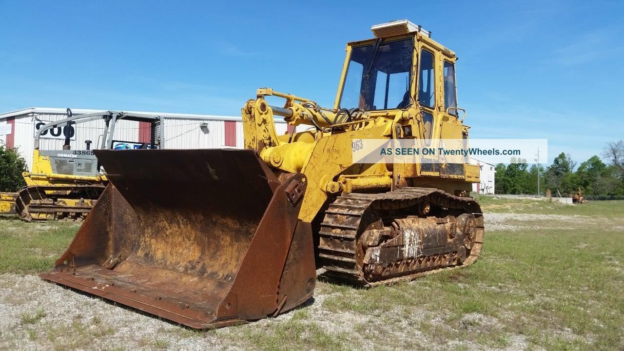 Caterpillar 963 Track Loader W/ 4 In 1 - - Finance Available. . . Crawler Dozers & Loaders photo