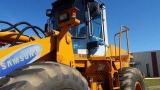 Samsung Sl120 - 2 Loader W/ Forks - - Finance Available. . . photo