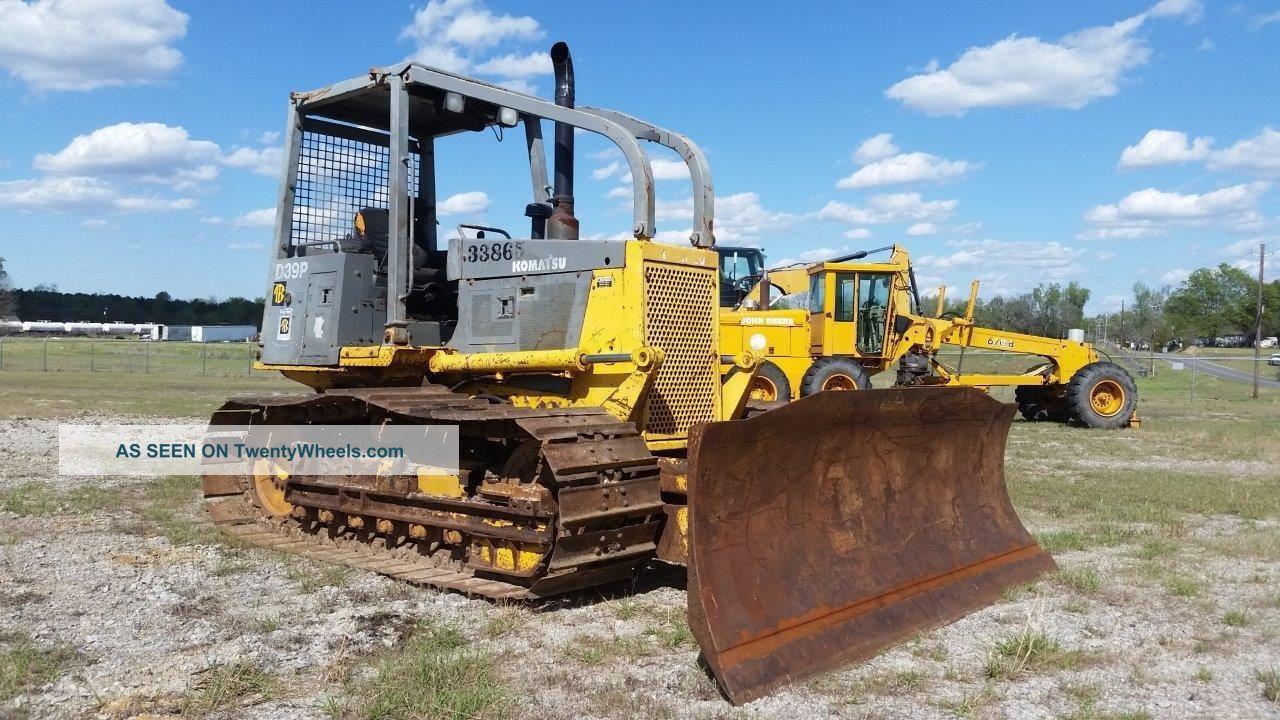 Komatsu D39p - 1 Bulldozer Dozer - Ready For Work - Finance Available. . . Crawler Dozers & Loaders photo