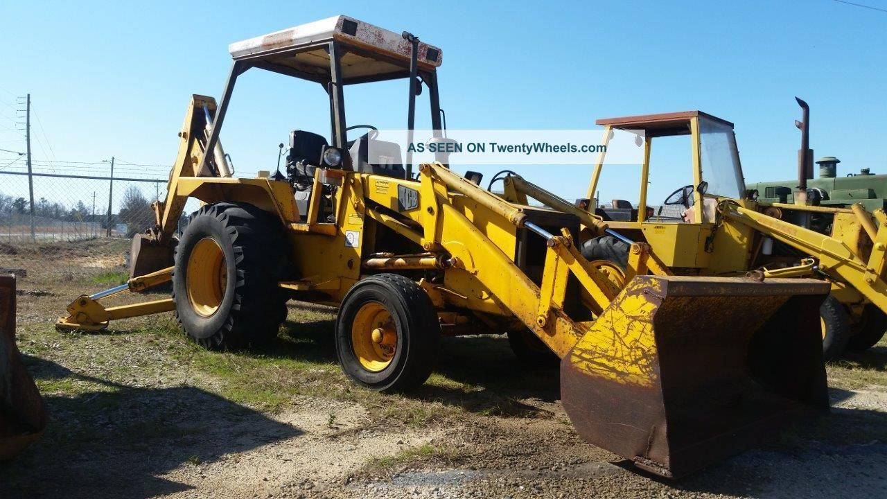 Jcb 1400b 2wd Backhoe With Open Cab - - Finance Available. . . Backhoe Loaders photo
