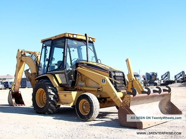 1998 Caterpillar 416c Backhoe - Backhoe Loader - Loader - Excavator - Cat - 25 Pics Backhoe Loaders photo