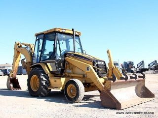 1998 Caterpillar 416c Backhoe - Backhoe Loader - Loader - Excavator - Cat - 25 Pics photo