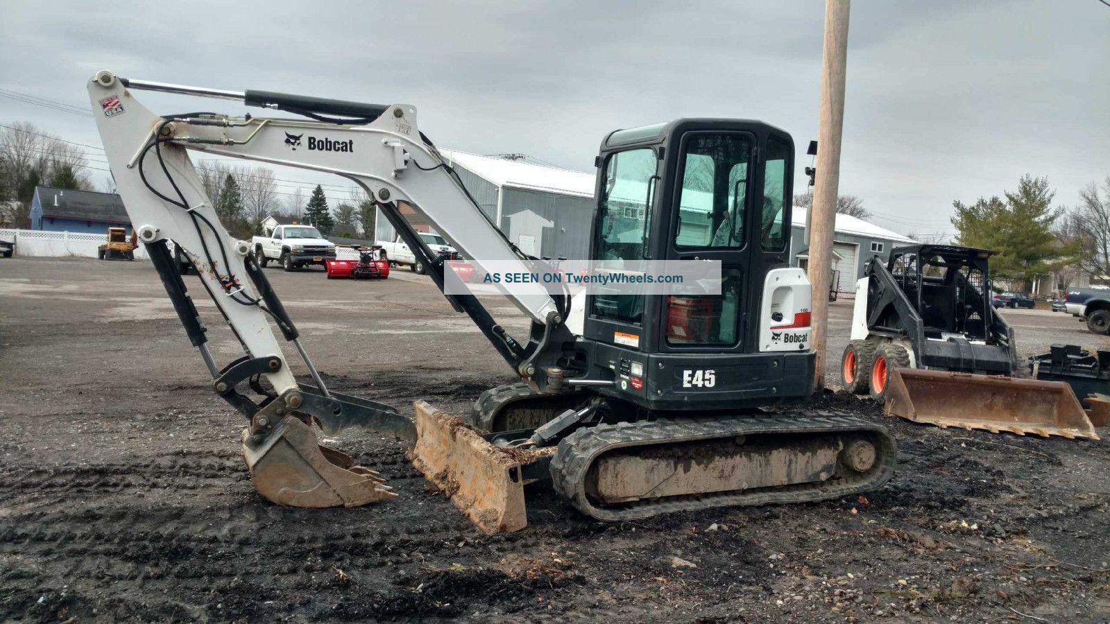 E45 Bobcat Excavators photo