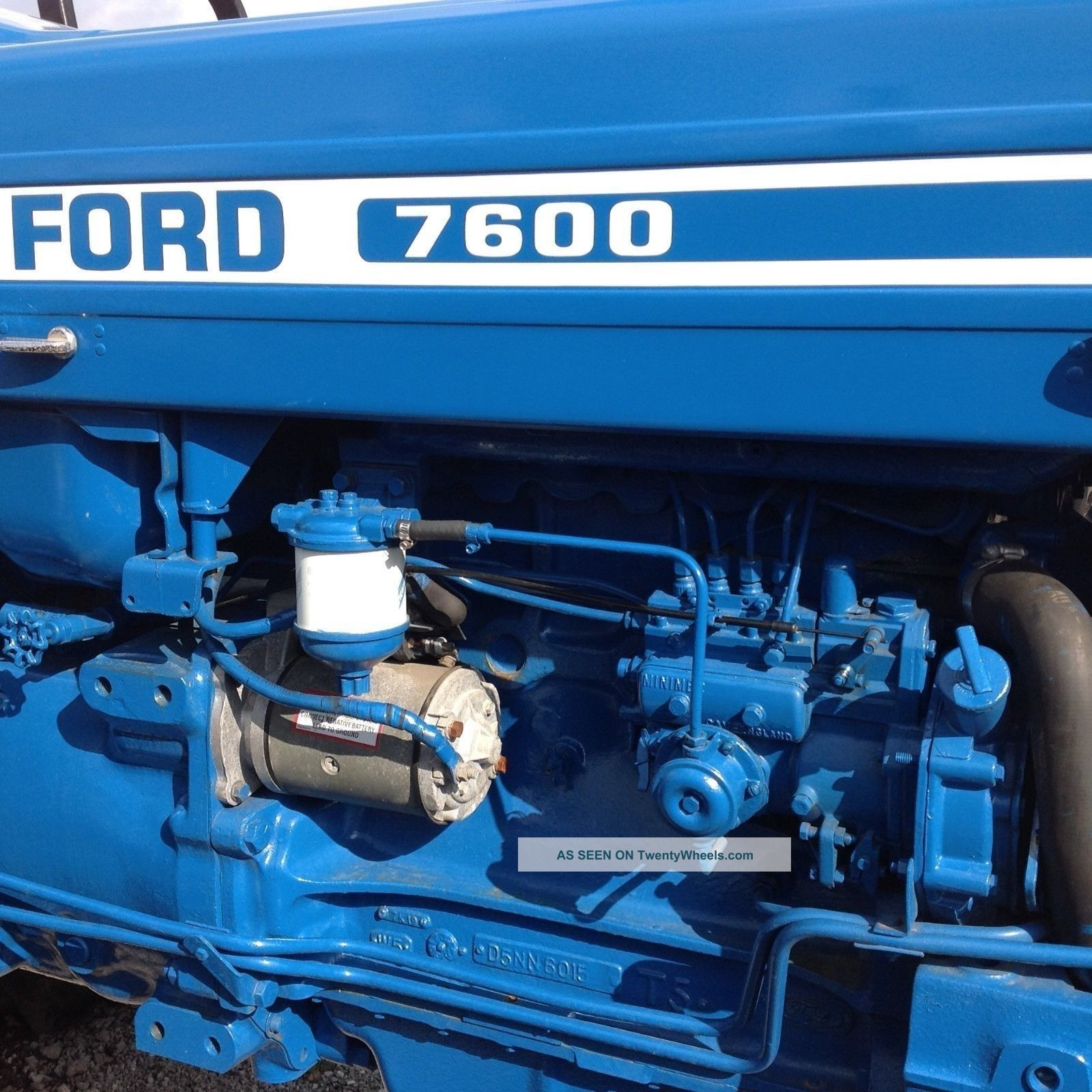 Ford 7600 Specs : Ford tractor