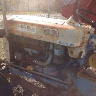 1964 Ford 4000 Select O Speed Tractor photo