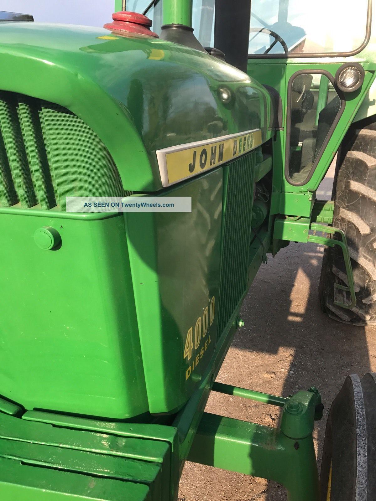 John Deere Standard Tractor Lgw