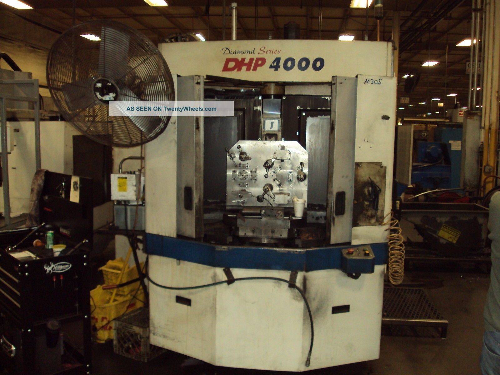 Doosan Dhp 4000 400mm Cnc Horizontal Machining Center Daewoo Fanuc 2005 Milling Machines photo