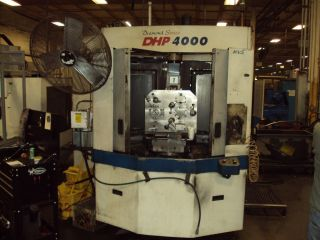 Doosan Dhp 4000 400mm Cnc Horizontal Machining Center Daewoo Fanuc 2005 photo