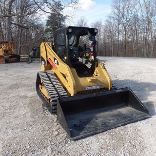 2012 Caterpillar 279c2 Cat Tracked Skidsteer Shape Video photo