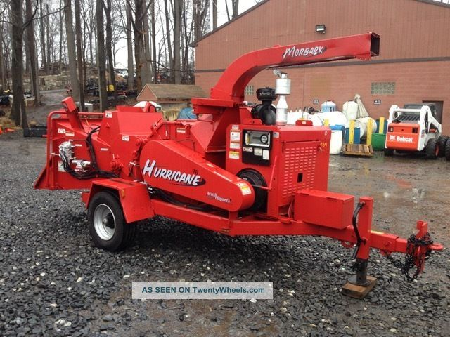 2008 Morbark Hurricane 2400 Chipper Wood Chippers & Stump Grinders photo