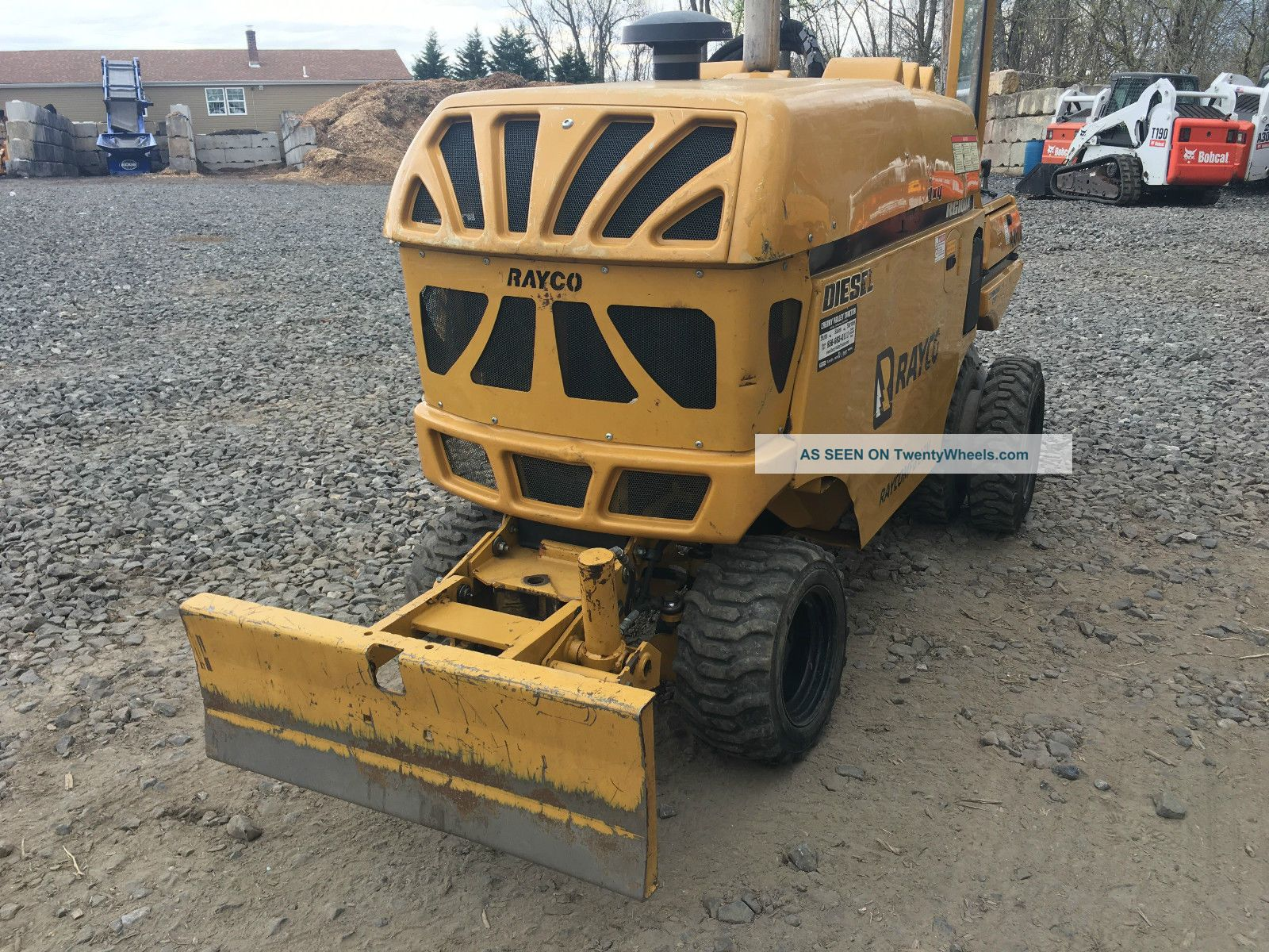 2013 Rayco Rg100x Stump Grinder With Trailer Wood Chippers & Stump Grinders photo