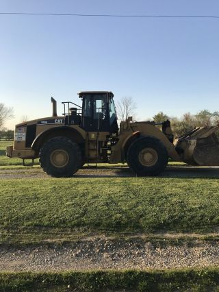 2005 Caterpillar 980h Wheel Loader photo