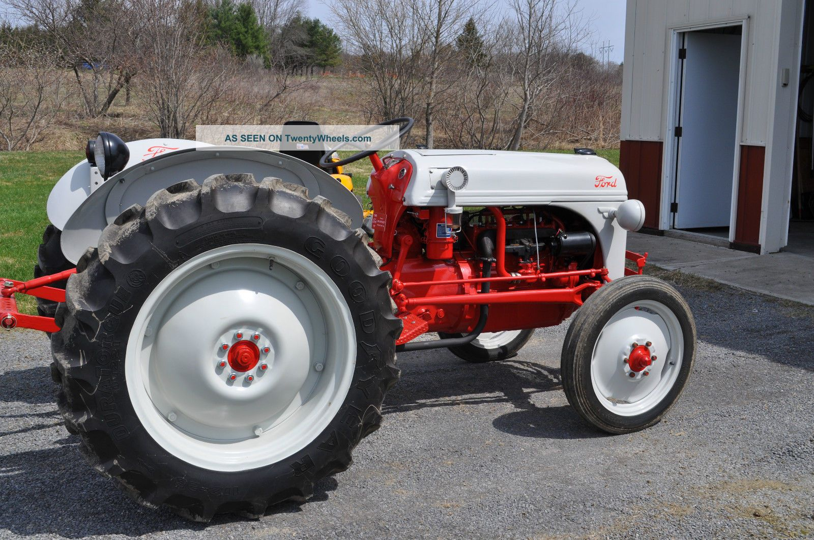 Ford 8n Tractor Dimensions : Ford n tractor