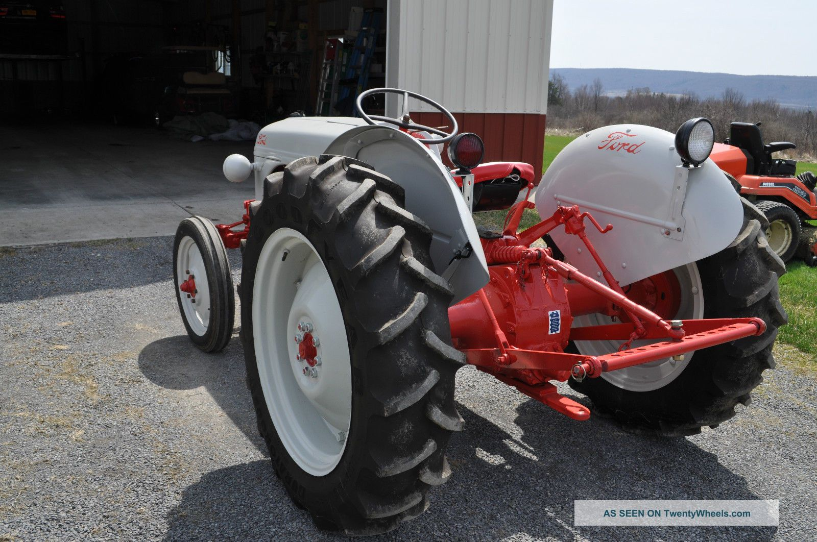 Ford 6n Tractor : Ford n tractor