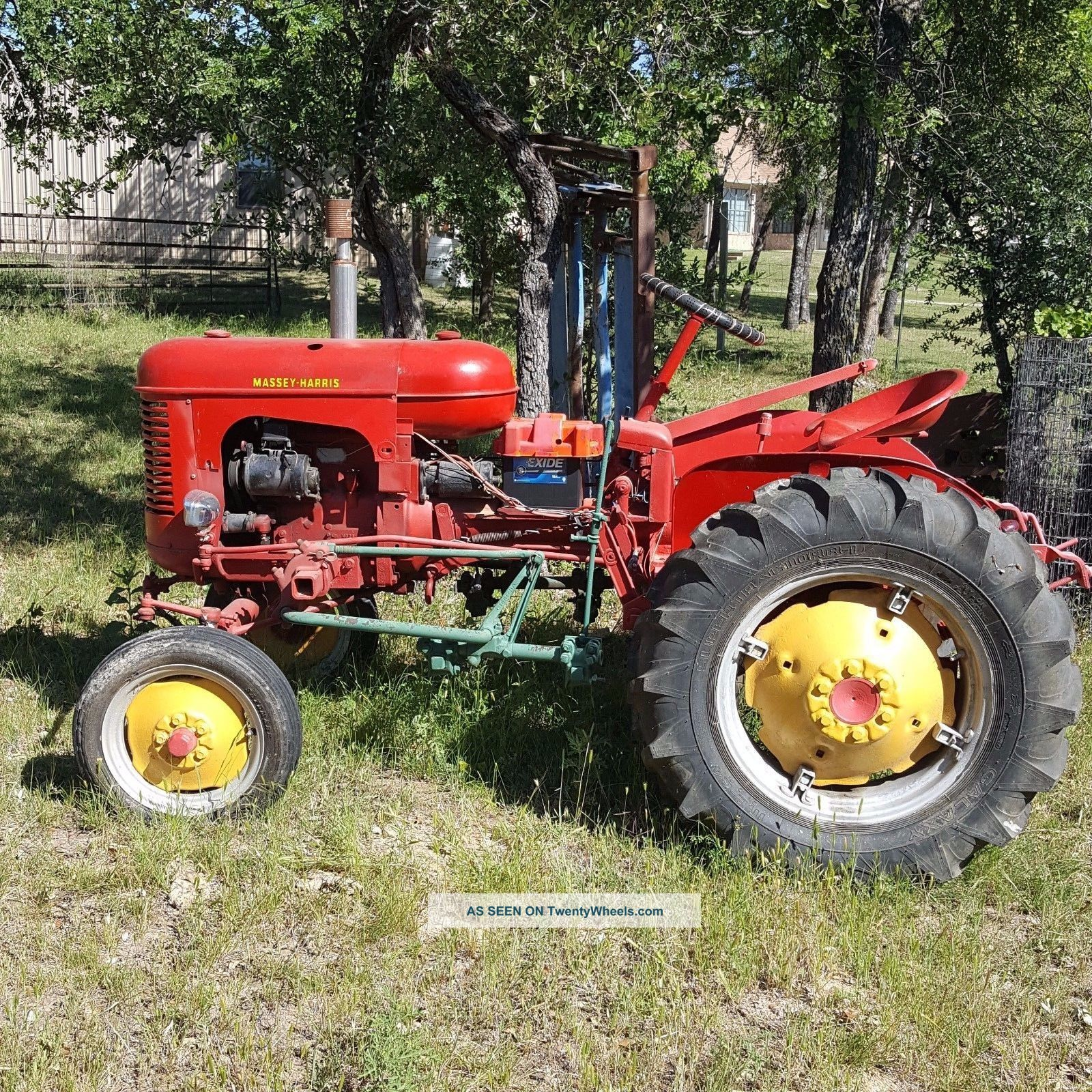 Ford 6n Tractor : Massey harris pony w factory cultivator attachments