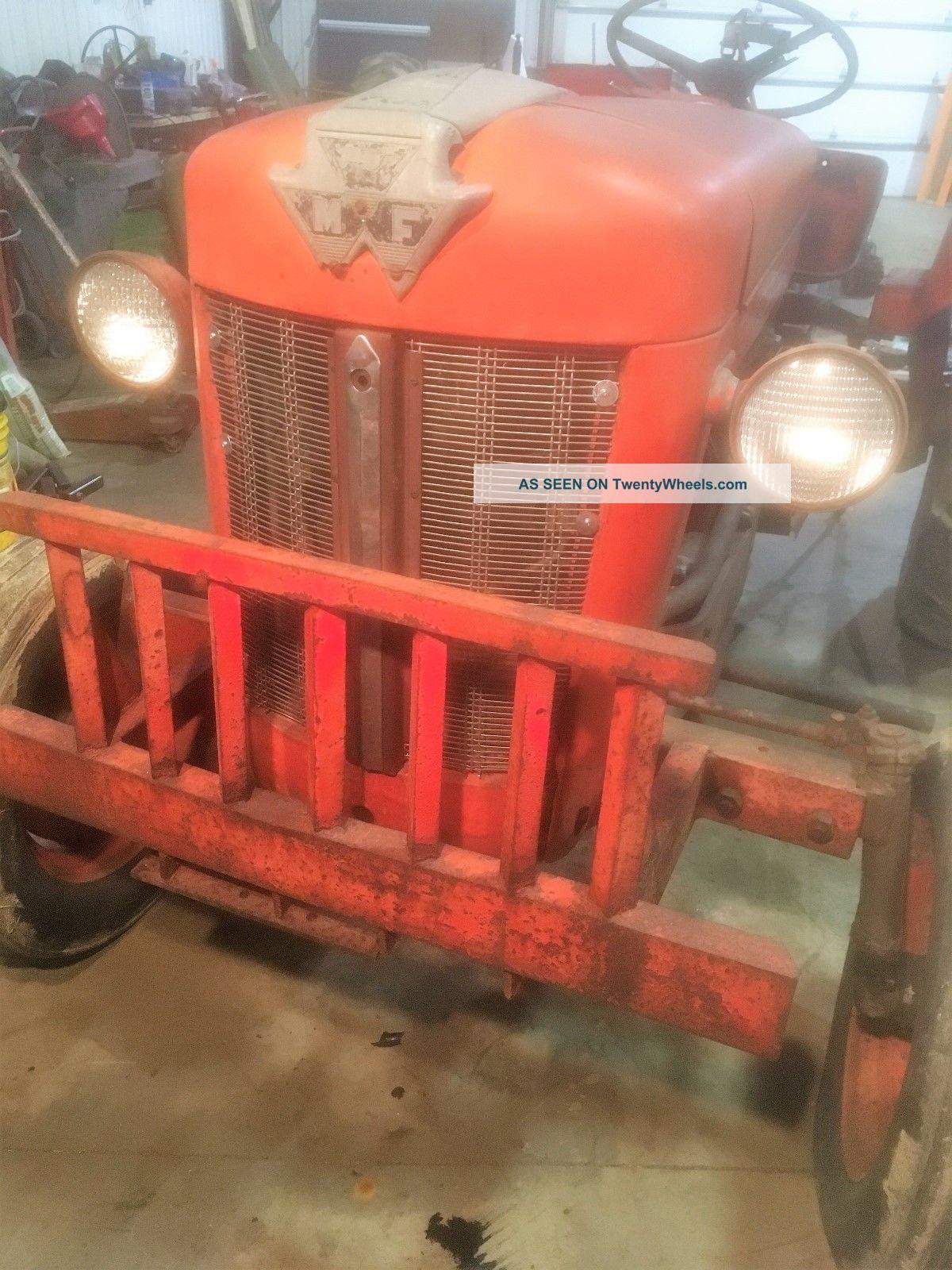 Ford 6n Tractor : Massey ferguson diesel
