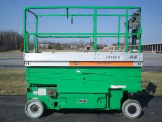2006 Jlg 3246es 32 ' Electric Slab Scissor Lift Manlift 32ft Platform Lift photo