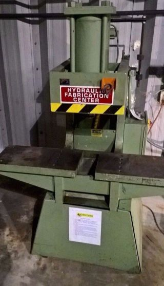 Kalamazoo Metal Muncher Mm - 70 Ton Punch Press Modified X - Tra 7.  5 Hp Motor` photo