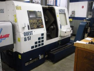 Hardinge Quest 8/51 Cnc Turning Center,  Lathe,  With Sub Spindle And Live Tool photo