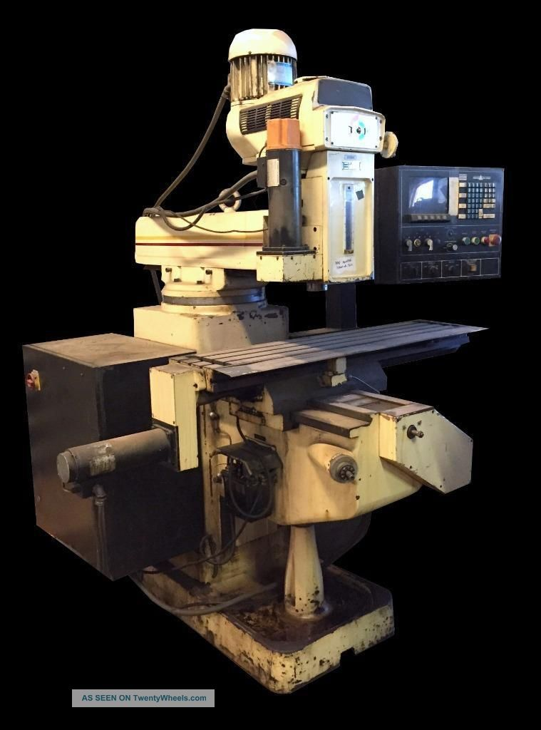 Millport 3kvhiic Cnc Knee Milling Machine - 50