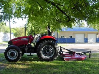 2010 Case Ih Farmall 80 Tractor 4wd - Diesel - With Implements Lot photo