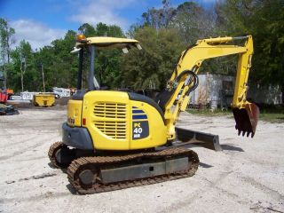 Komatsu Pc40mr - 3 2010 1420 Hrs,  350mm Steel Tracks Orops photo