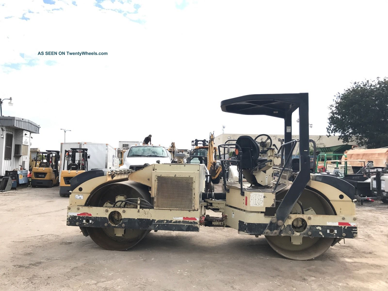 2007 Ingersoll - Rand Dd90 Double Drum Roller Compactors & Rollers - Riding photo