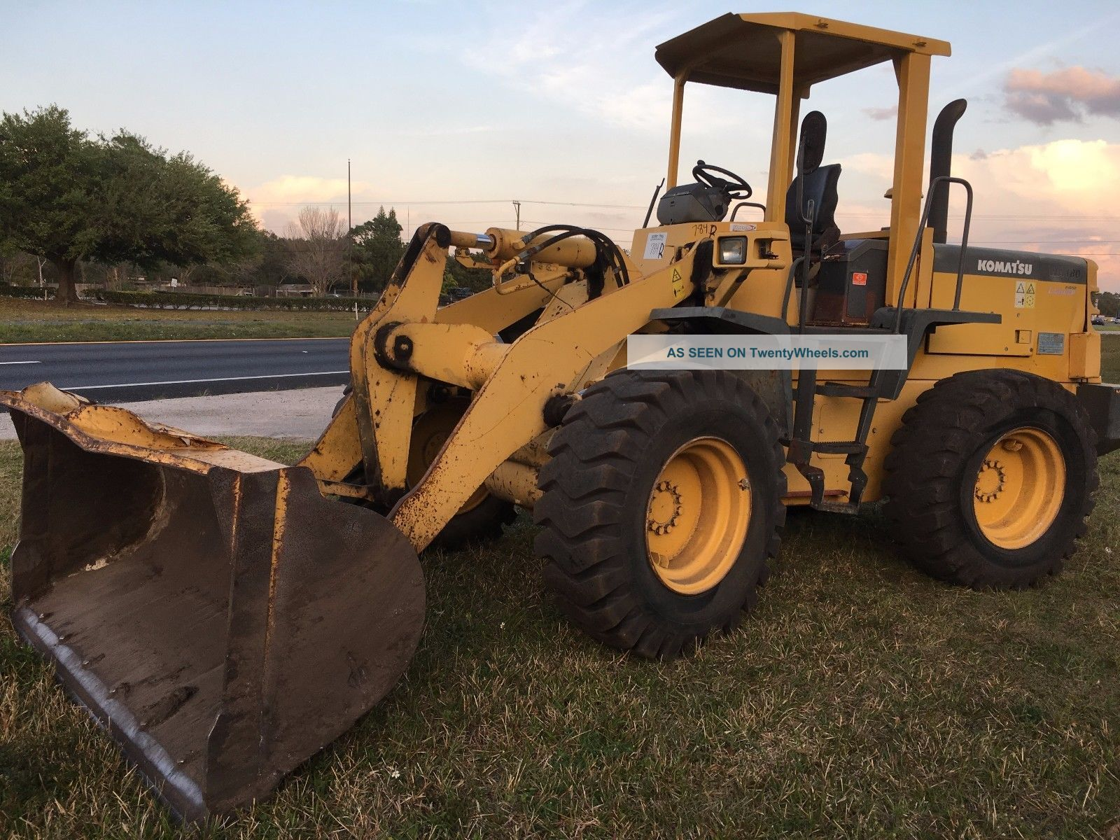 Komatsu Wa180 - 3l Wheel Loader Wheel Loaders photo