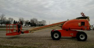 2007 Jlg 600s Boom Man Lift 60 ' Aerial Cat Diesel 4x4 1060 Hour photo