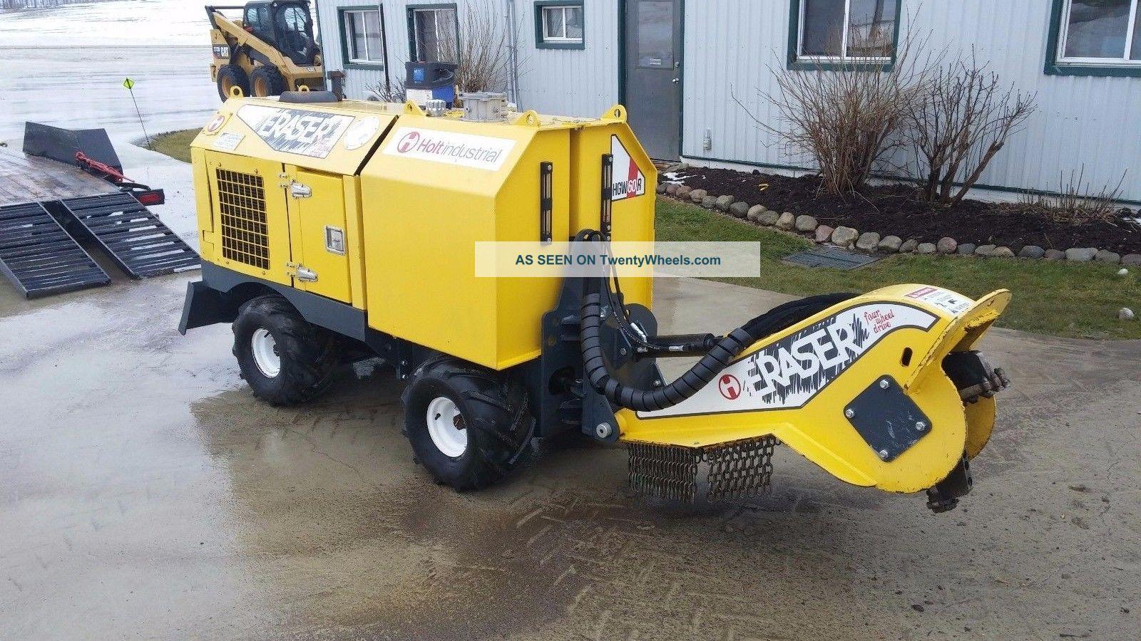 Holt Industrial - 60 Hp Kubota Turbo Diesel Self - Propelled Stump Grinder Wood Chippers & Stump Grinders photo