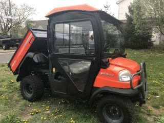 Kubota Rtv900 4x4 Diesel Heated Hard Cab,  Defroster,  Fully Hydraulic Dump,  Signal photo