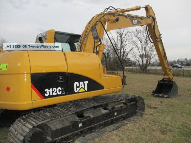 2008 Caterpillar 312cl Hyd Excavator Excavators photo