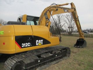 2008 Caterpillar 312cl Hyd Excavator photo