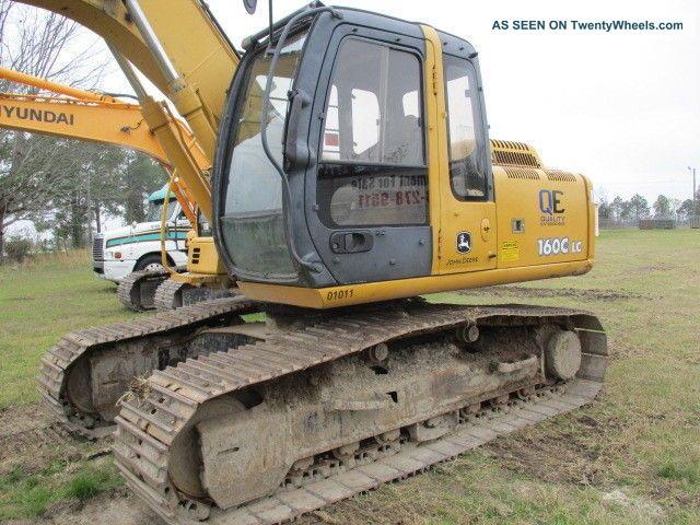 2007 John Deere 160lc Hyd Excavator Excavators photo