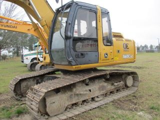 2007 John Deere 160lc Hyd Excavator photo